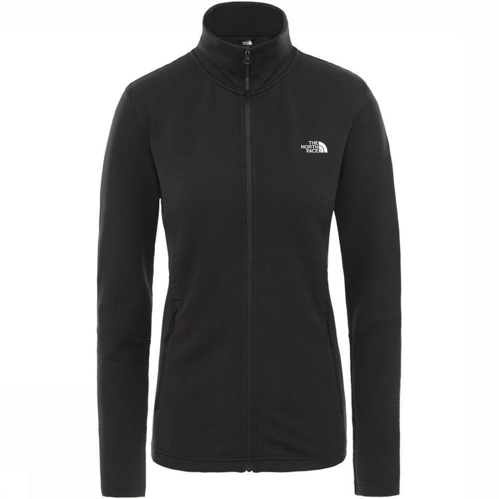 Afbeelding van The North Face The North Face Varunda Midlayer Full Zip Dames Jacket Zwart