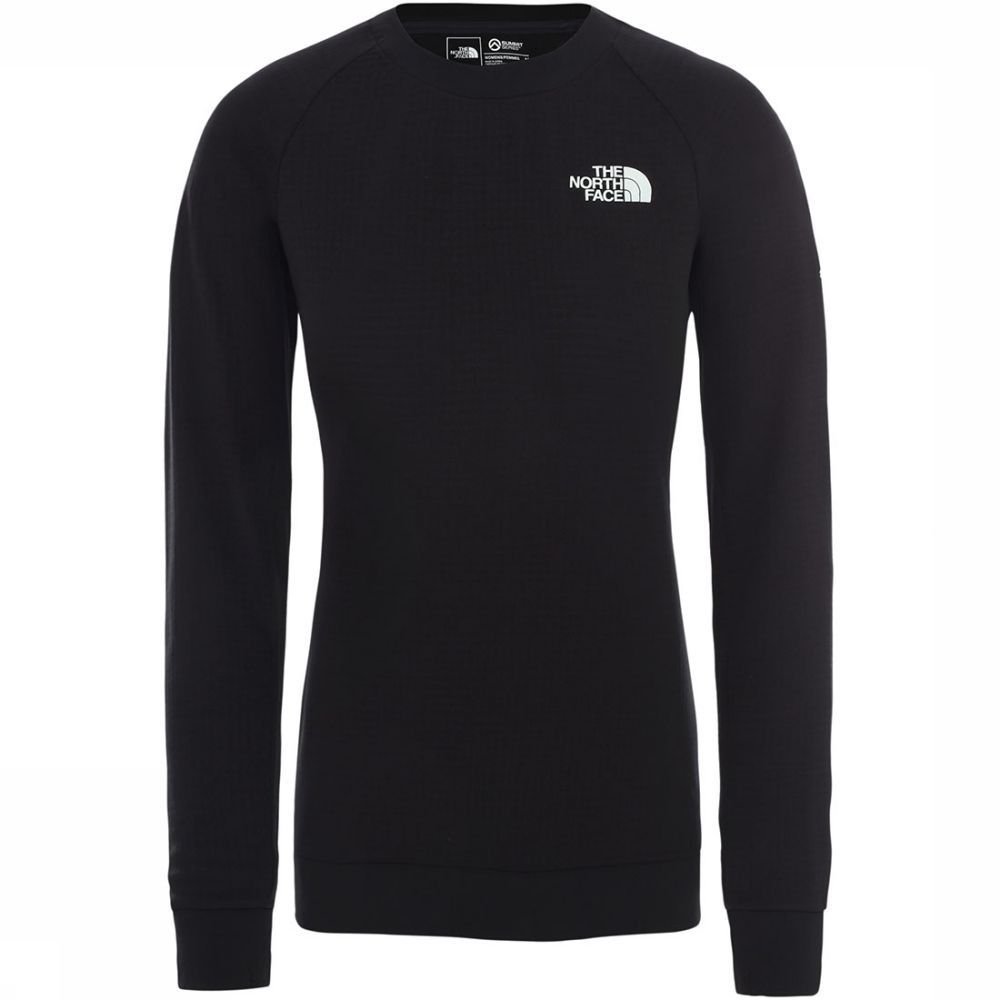 Afbeelding van The North Face The North Face Summit L2 Powergrid Dames Pullover. Zwart