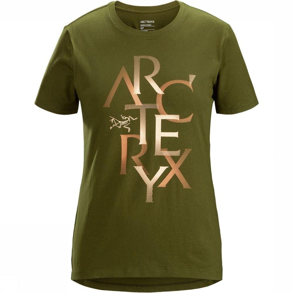 Afbeelding van Arc'teryx Assemble T-shirt SS Dames Groen