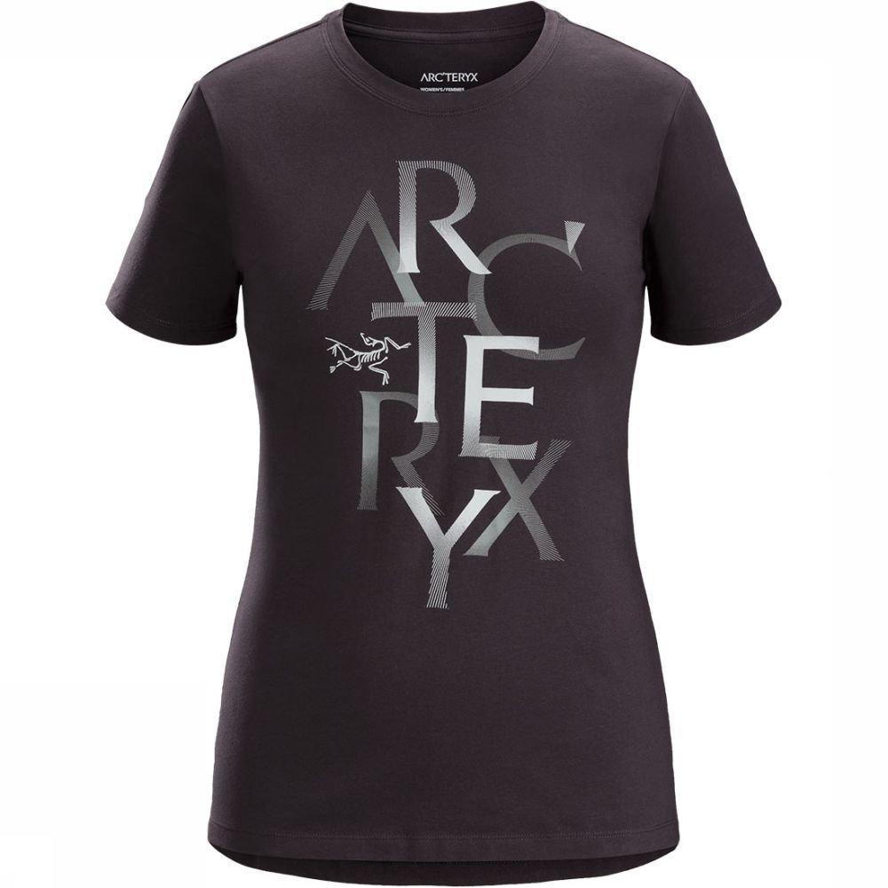 Afbeelding van Arc'teryx Assemble T-shirt SS Dames Zwart/Bruin