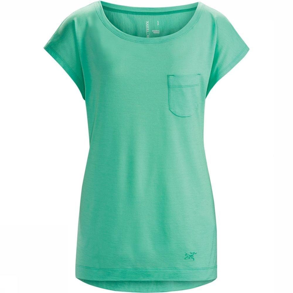Afbeelding van Arc'teryx A28 Scoop Neck Shirt Dames Blauw