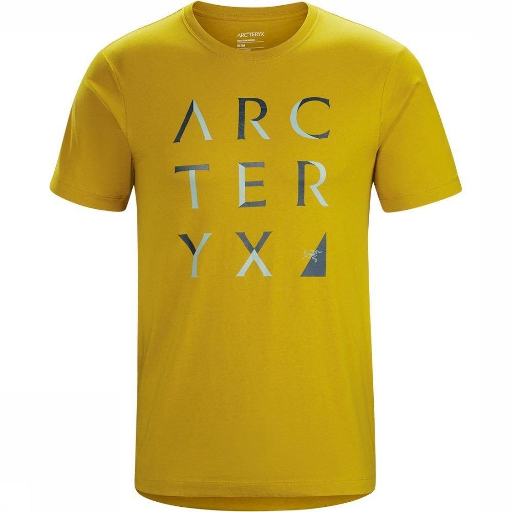 Afbeelding van Arc'teryx Array SS T-shirt Geel Heren