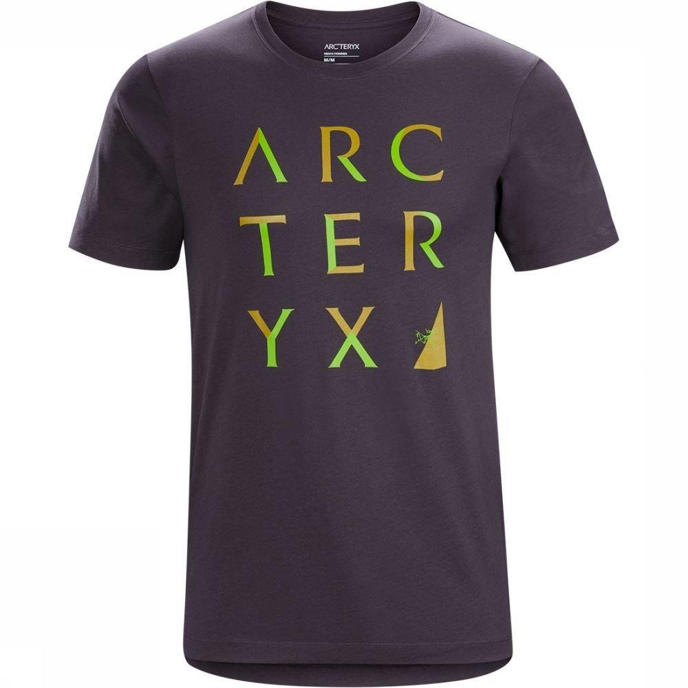 Afbeelding van Arc'teryx Array SS T-shirt Zwart/Bruin Heren