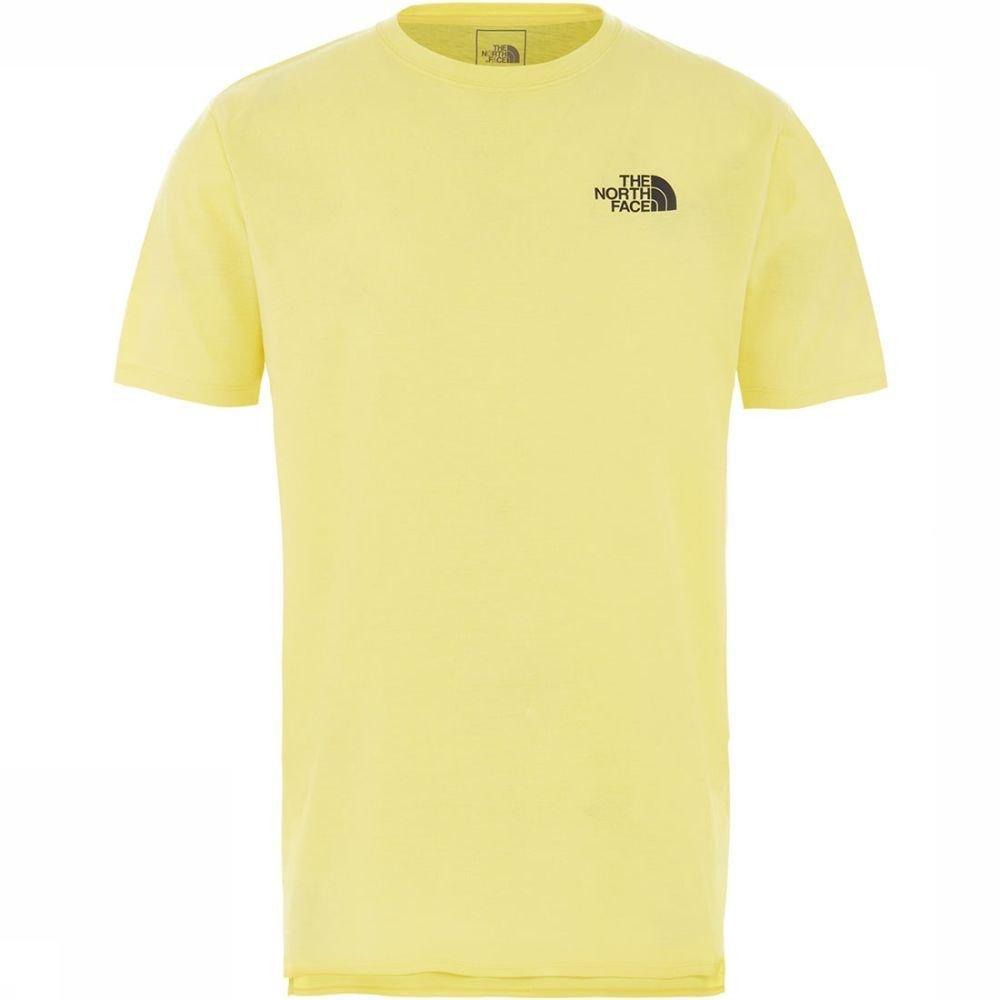 Afbeelding van The North Face North Dome Active T-shirt Geel Heren