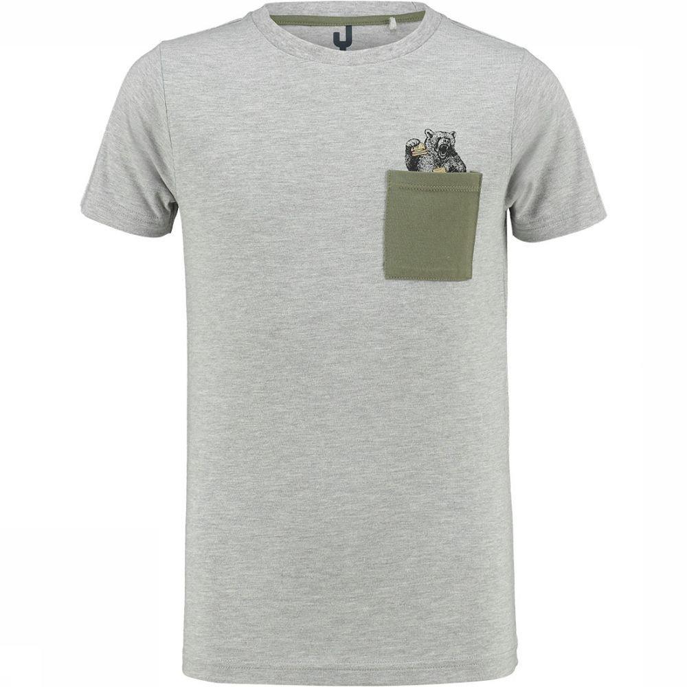 Afbeelding van Ayacucho Alfie Pocket T-shirt Junior Grijs