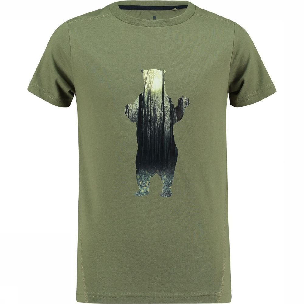 Afbeelding van Ayacucho Alfie T-shirt Jongens Groen