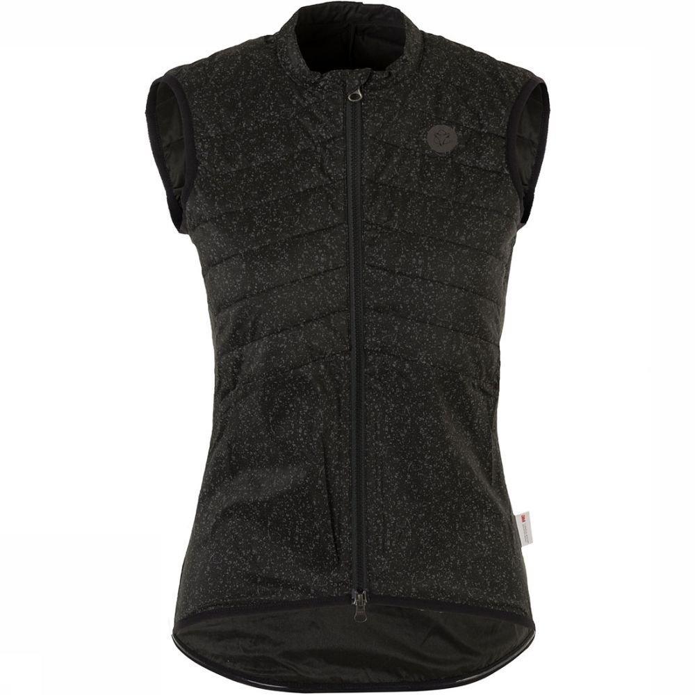 Afbeelding van Agu Essential Padded Hivis Body Vest Jas Dames Grijs