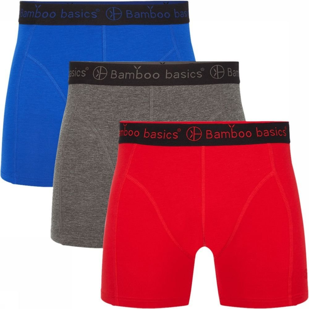 Afbeelding van Bamboo Basics Rico Boxershort 3-pack Multi