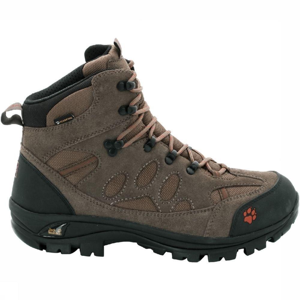 Peau Jack Loup Tout Terrain 7 Texapore Mi M, Chaussures De Randonnée / Alpinisme Pour Les Hommes, Beige, 42