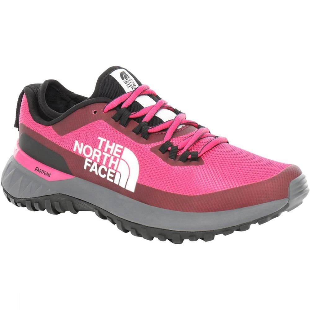 Afbeelding van The North Face The North Face Ultra Traction Dames Trailrunning Schoen. Roze