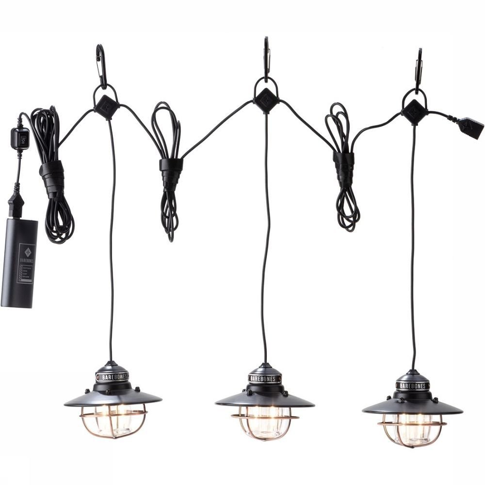 Afbeelding van Barebones Edison Pendant Lights USB Verlichting Rood