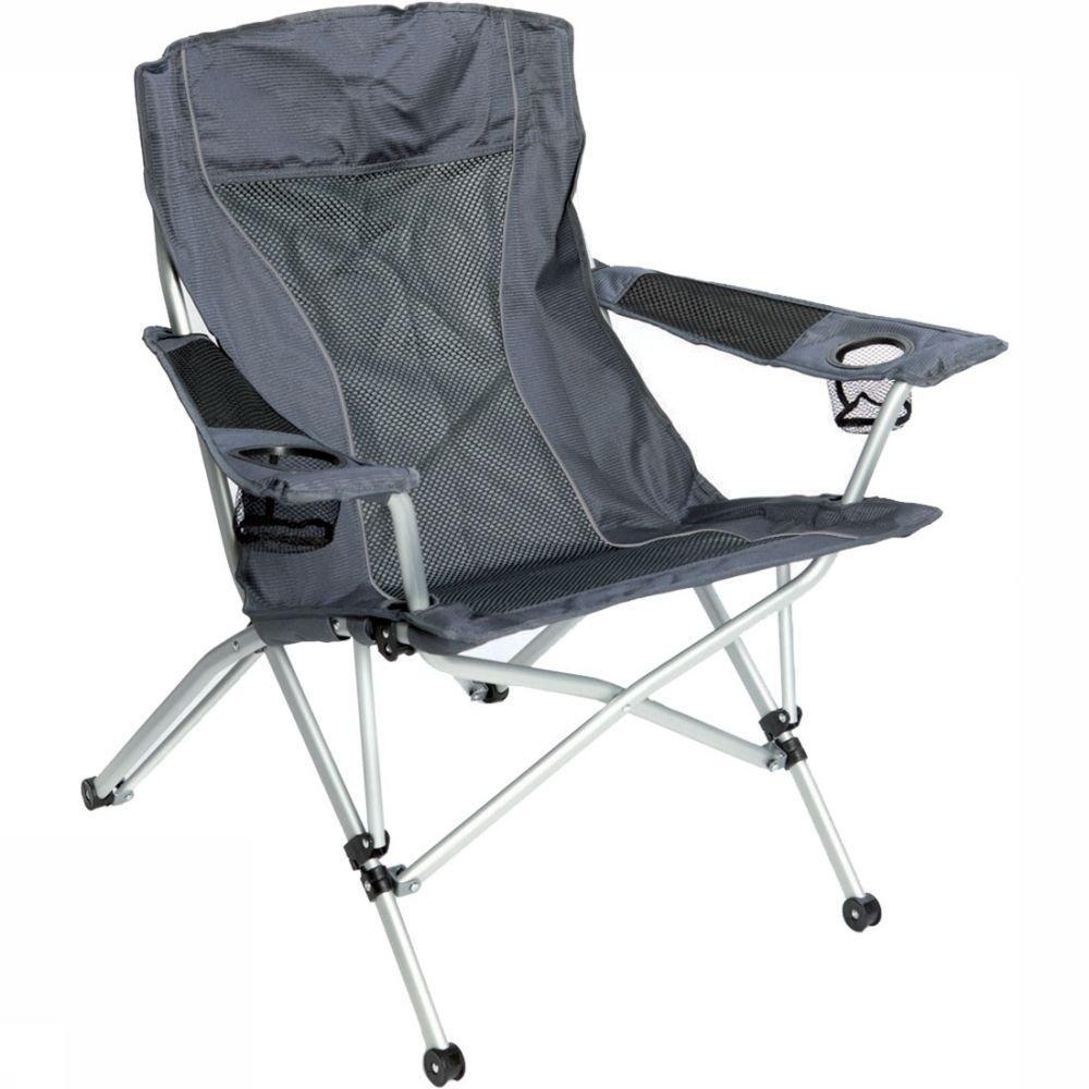 Afbeelding van Bever Deluxe Comfort Hybrid Vouwstoel Zwart/Wit