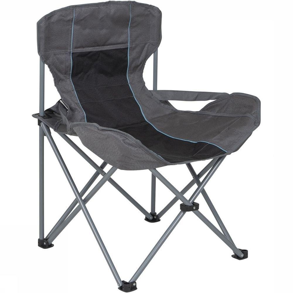Afbeelding van Bever Deluxe Compact Vouwstoel Grijs