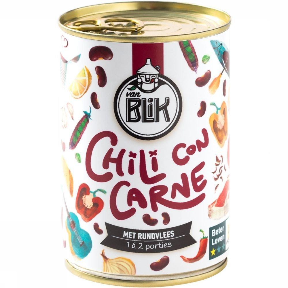 Chili Vanblik Con Carne Blik Bever Xw1XqYCS