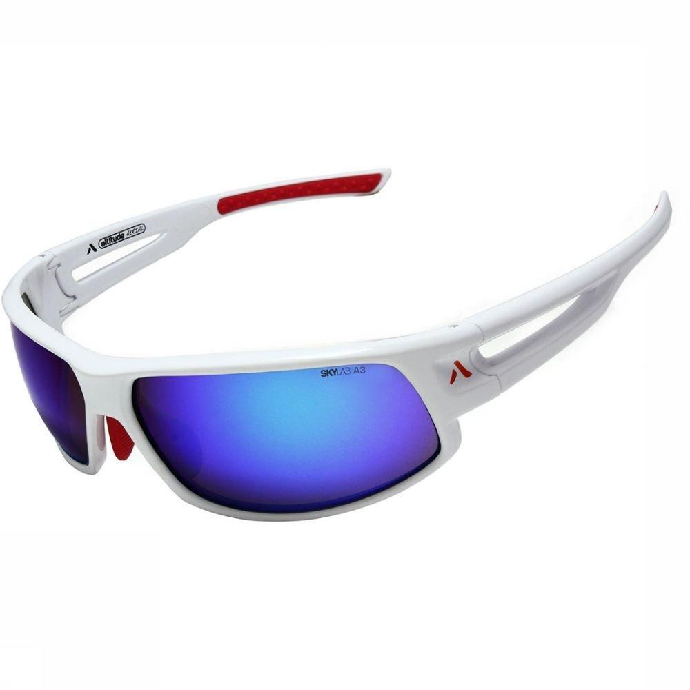 Afbeelding van Altitude Eyewear Zonnebril Aerial White Wit/Rood