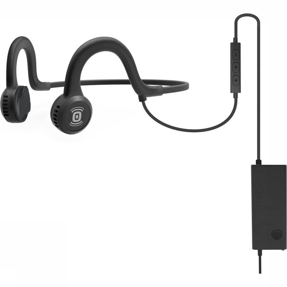 Afbeelding van Aftershokz Sportz Titanium Hoofdtelefoon + Microfoon Zwart