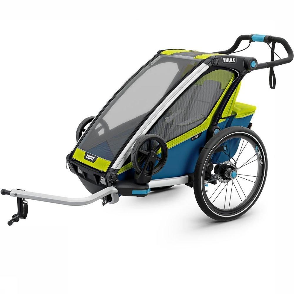 Afbeelding van Thule Chariot Sport 1 Kinderkar Groen