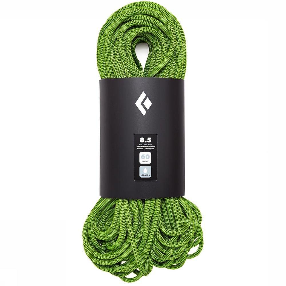 Afbeelding van Black Diamond 8.5 Dry 60m Dubbeltouw Groen